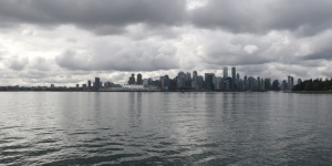 Downtown Vancouver from the harbour