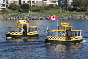 Water Taxis in Victoria Harbour.