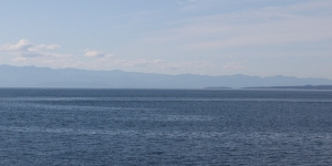 Across Strait of Juan de Fuca