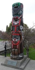 Kwakiutl Bear Pole