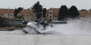 Harbour Air DHC-6 Twin Otter C-FGQH (604) taking off.