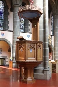 The Pulpit of Christ Church Cathedral, Victoria.