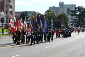 Massed Colour Party