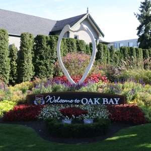 Oak Bay Floral Display