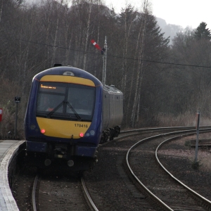 16:46 train to Inverness (15:09 from Glasgow Queen Street)