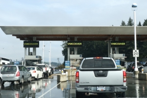 Ferry Check-in at Swartz Bay