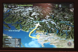 The route from Vancouver