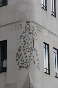The corner of St Olaf's House