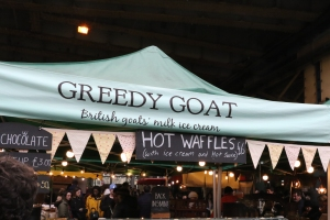 Greedy Goat at Borough Market