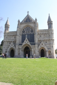 West End of St Albans Cathedral