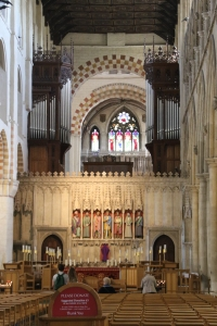 Nave of St Albans Cathedral