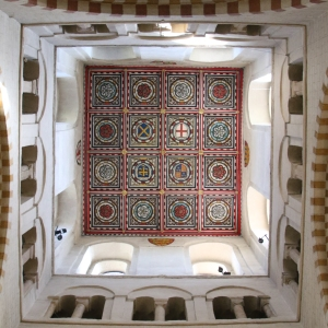 Inside ceiling of the Tower