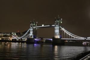 Floodlit Tower Bridge