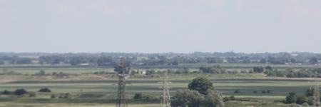 Looking east towards Ely