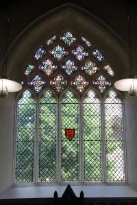 Window in Becket's Tearoom