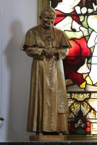 Statuette of Pope John Paul II