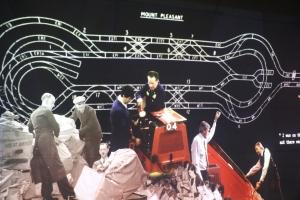 Mail Rail video display