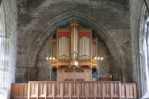 The Organ of Dunkeld Cathedral