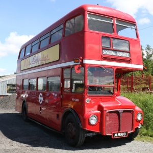 Routemaster RM 2059 at Llanuwchllyn