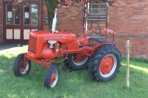 Allis Chalmers tractor at Llanuwchllyn