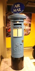 Air Mail Pillar Box