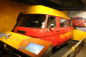 Post Bus at The Postal Museum