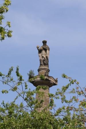 John Knox at the Necropolis