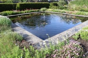 Pond in Dunvegan Gardens