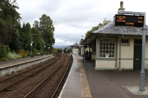 Glenfinnan Station (looking east)