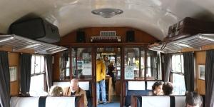 Inside Glenfinnan Station Cafe
