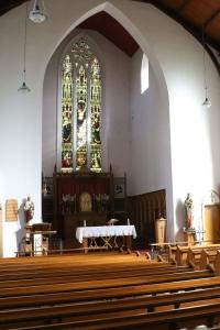 Sanctuary at St Mary's, Arasaig