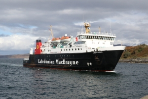 MV Lord of the Isles arriving at Mallaig