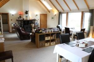 The main room at Foxwood on Skye