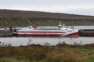 MV Pentalina at Gills Bay