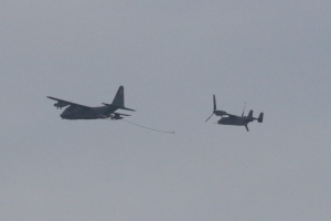 Flypast on 75th anniversary of Endcliffe Park Crash