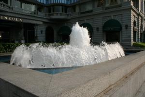 Peninsula Hotel Fountain
