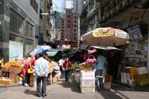 Mong Kok Street Scene