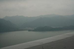Lan Tau on approach to Chek Lap Kok