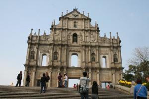 Ruins of St Paul's in Macau