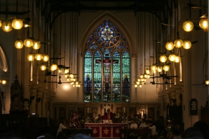 Interior of St John's Cathedral