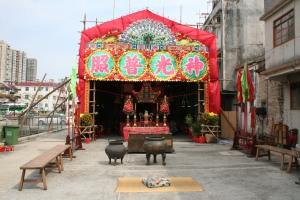 Temple outside Fanling Walled Village