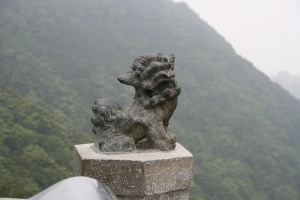 Chinese Lion at Victoria Peak