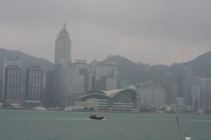 Hong Kong Island from Tsim Sha Tsui