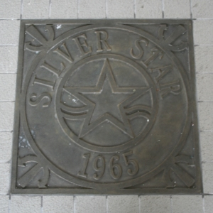 Silver Star [1965] Plaque at Central Pier
