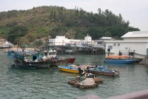 Tai O fishing boats
