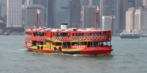 Morning Star in Victoria Harbour
