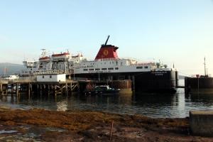 MV Caledonian Isles at Brodick Pier