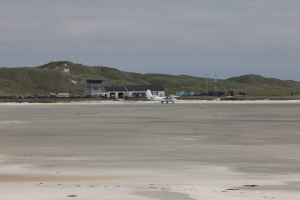 Twin Otter G-BZFP at Barra Airport