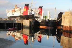 MV Lord of the Isles at Castlebay