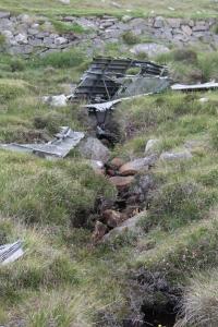 Wreck of Catalina JX273